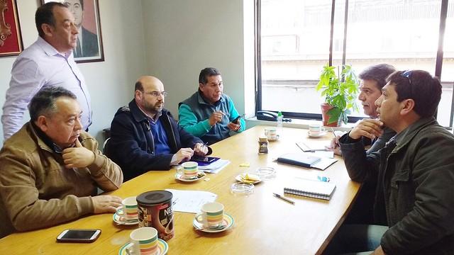 Preparacion de actividades Dia del funcionario Municipal Santiago 2017