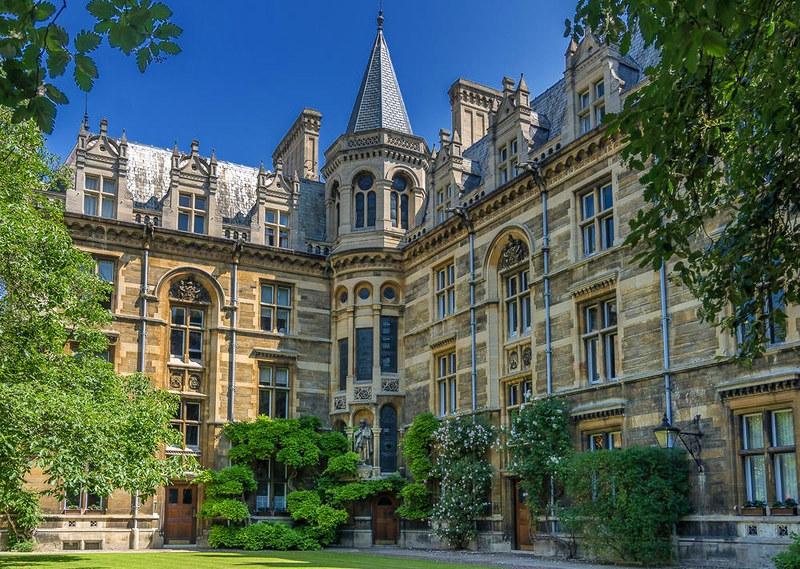 Gonville & Caius College. Credit Bob Radlinski, flickr