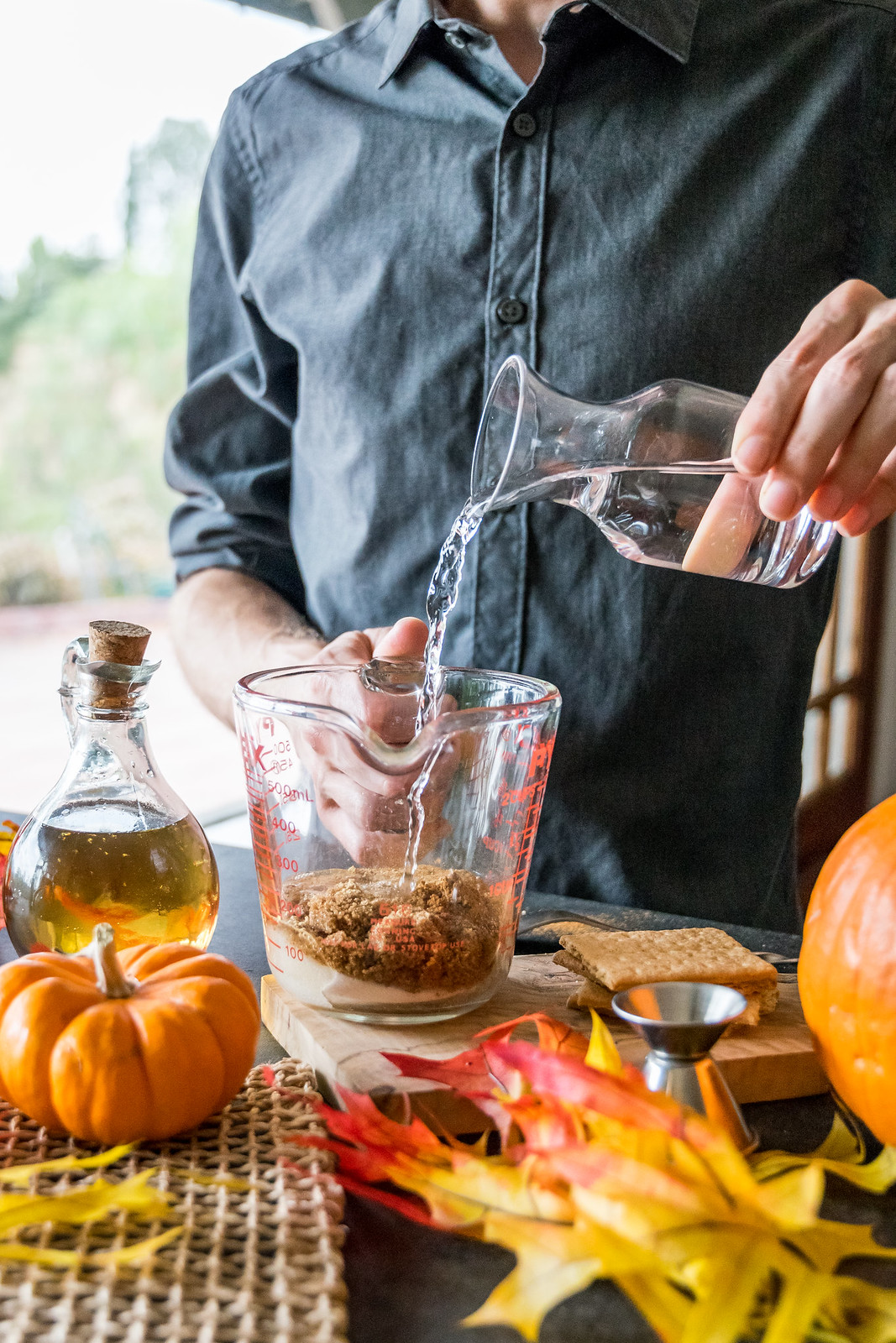 no need for a stove: this simple syrup is simply stirred together
