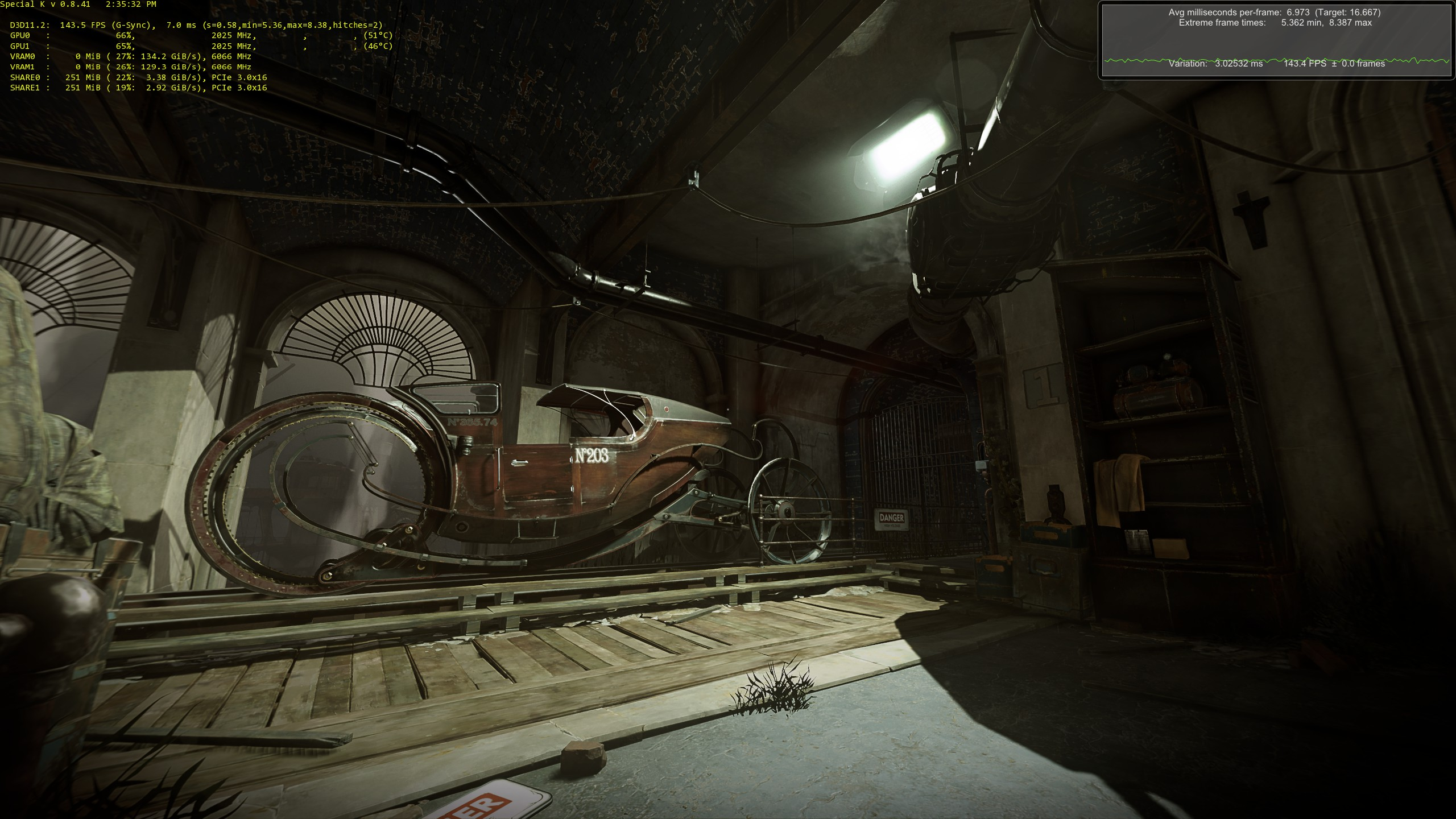 Dishonored: Death of the Outsider PC performance thread   NeoGAF