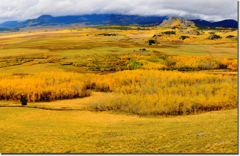 View from The Colorado Trail, overlooking South Park, near Kenosha Pass (5)