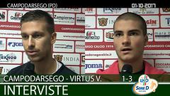 Campodarsego-Virtus V.-Este del 01-10-17