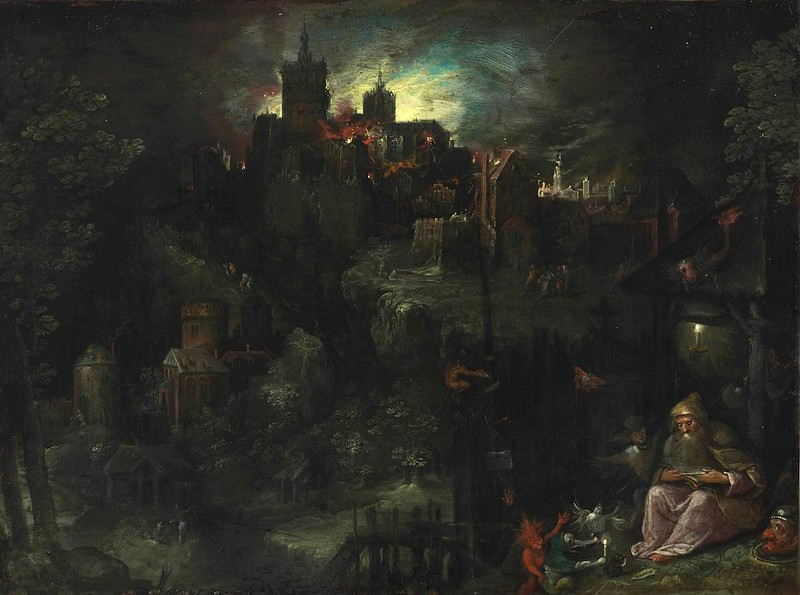 Frans Francken the Younger - The  Temptation of Saint Anthony, 1604