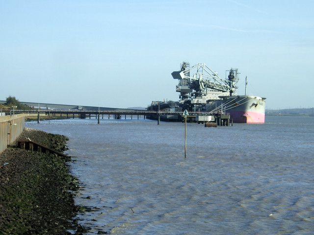 The Thames at Tilbury