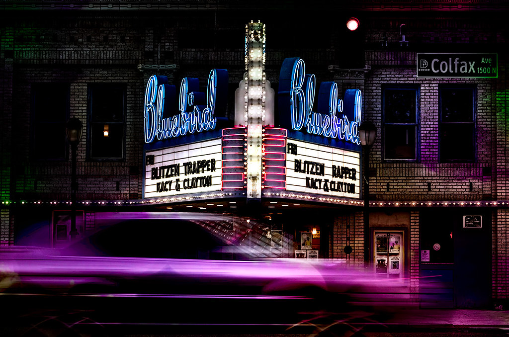 Bluebird Theatre, Denver