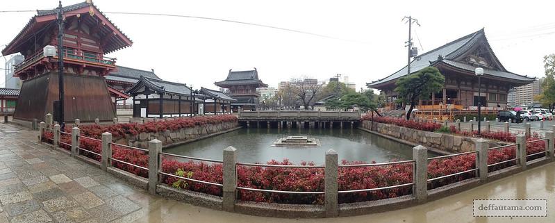2 Hari Keliling Osaka - Shitennoji Temple