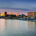Berlin sunset - Skyline Panorama by FH   Photography