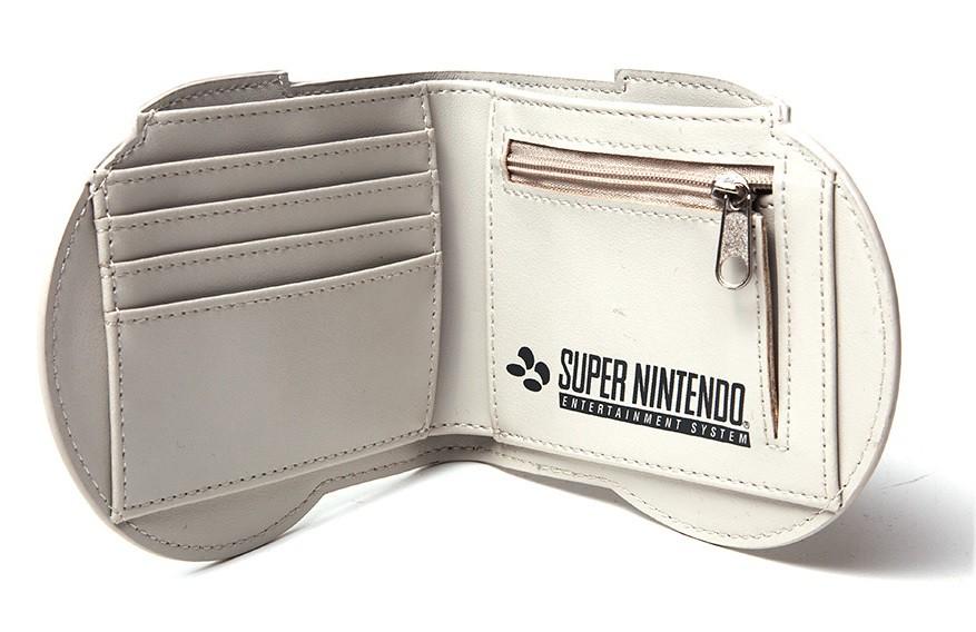 任粉必備!!這皮夾裝的不是錢,是滿滿的感動~~任天堂【超級任天堂手把雙折短夾】Nintendo: SNES Controller Bifold Wallet
