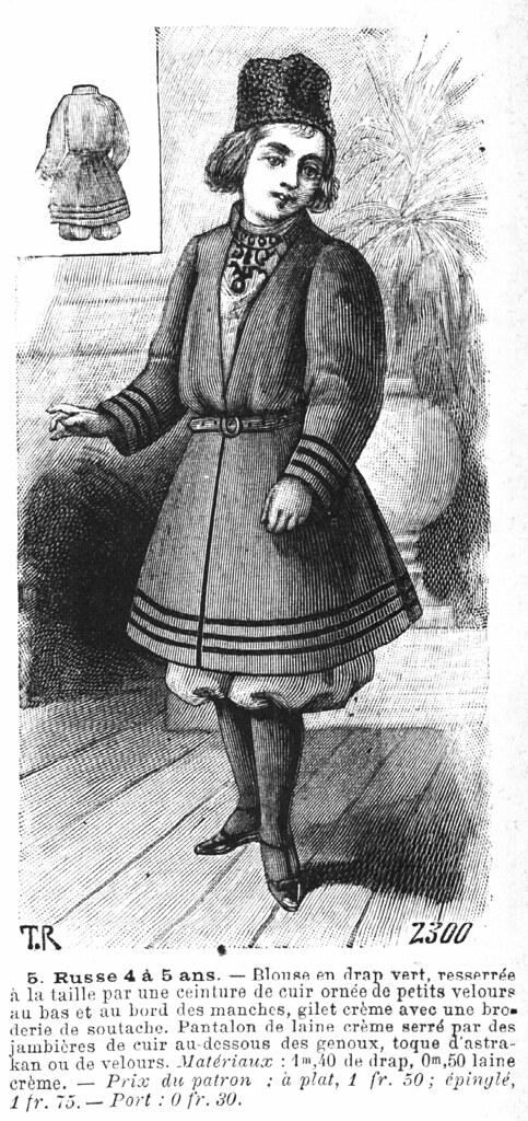 Russe de 4 à 5 ans (déguisement)
