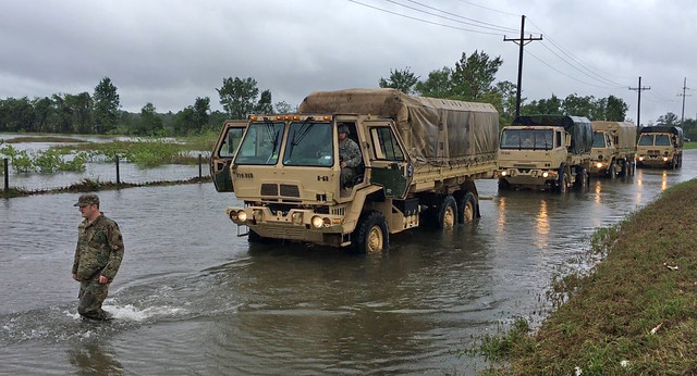 photo of Hurricane Harvey recovery