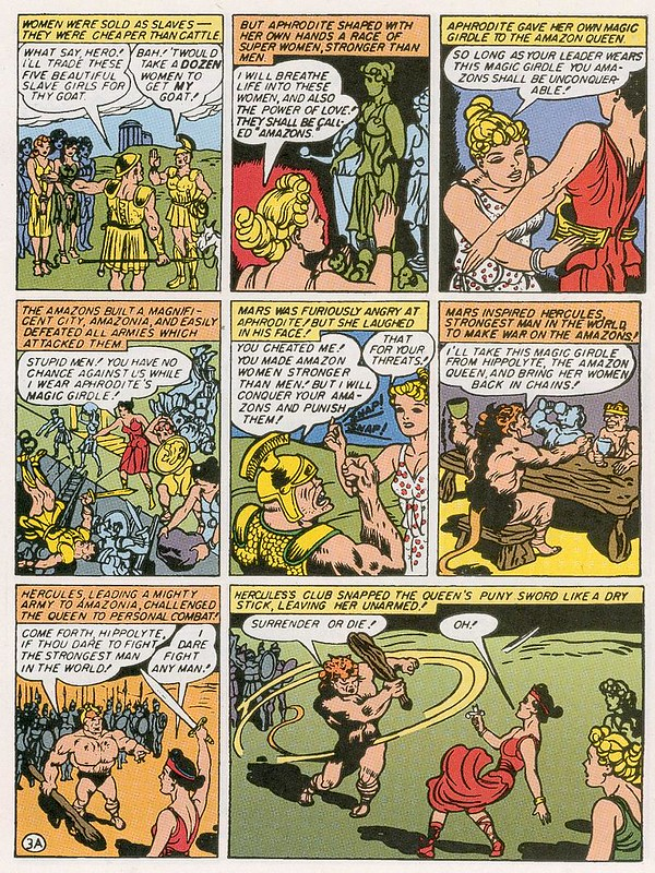 Wonder Woman #1 page 3