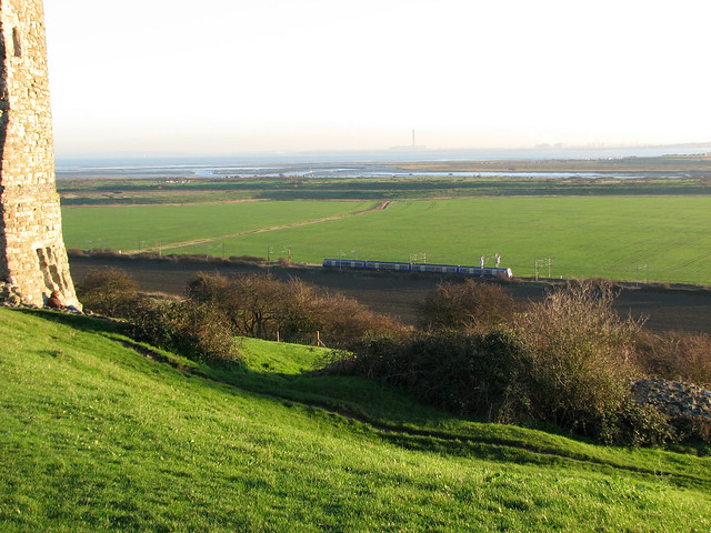 View from Hadleigh Castle