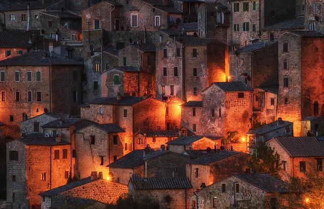 Night in Tuscany, Nikon D750, AF-S Nikkor 70-200mm f/4G ED VR