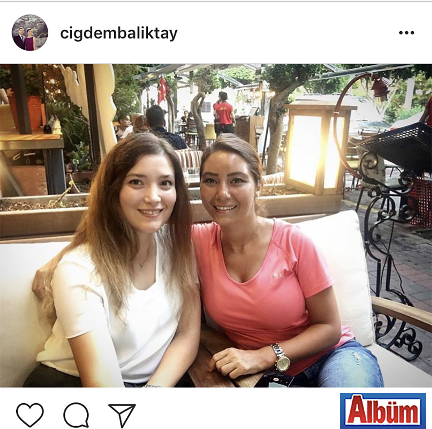 Çiğdem Balıktay, yakın dostu Nilgün Elgün ile hasret giderdi.
