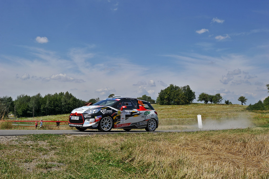 40 FALCO«N Emma (ESP) PEN~ATE Rogelio (ESP) Citroen DS3 R3T action during the 2017 European Rally Championship Rally Rzeszowski in Poland from August 4 to 6 - Photo Wilfried Marcon / DPPI