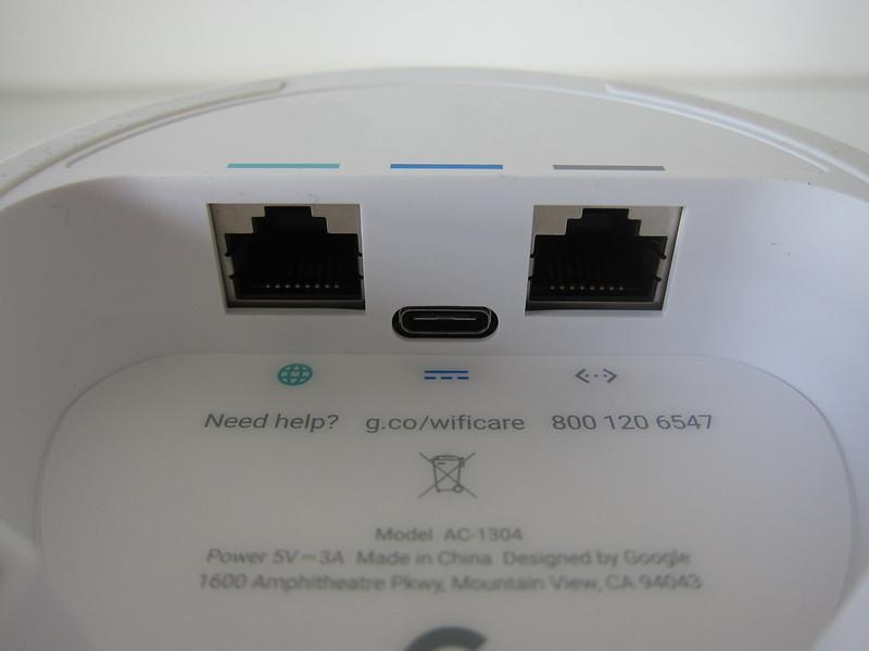 Google Wifi - Ports