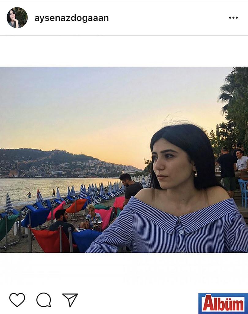 Ayşe Naz Doğan, Kale manzarasına karşı çektirdiği bu fotoğraf ile takipçilerinin beğenisini topladı.