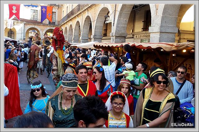 #ÁvilaMedieval como volver al medievo en un fin de semana 6
