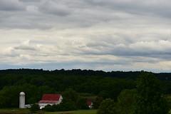 Barn with an Ominous Sky