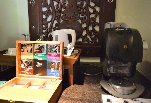 novotel lombok resort and villas coffee machine