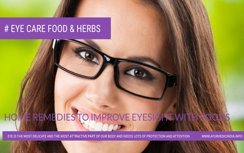 Home Remedies To Improve Eyesight With Foods