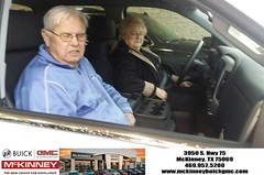 #HappyBirthday to Gordon & Barbara from William Rinker at McKinney Buick GMC!