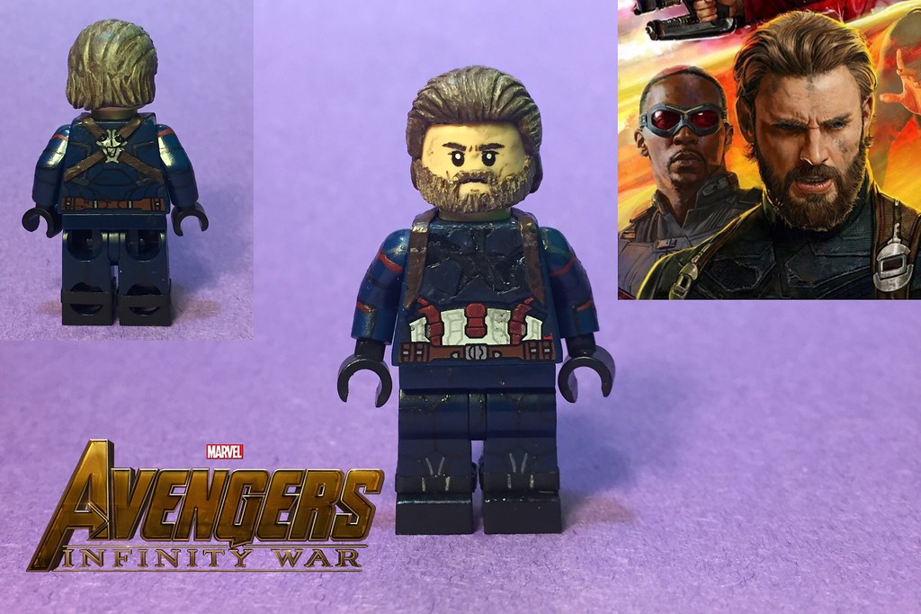 steve rogers from avengers: infinity war   first off: huge t…   flickr