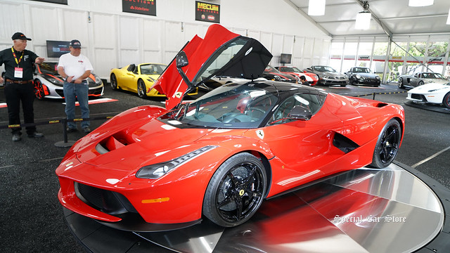 2014 Ferrari LaFerrari at Mecum Auction Monterey 2017