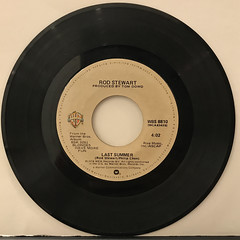 ROD STEWART:AIN'T LOVE A BITCH(RECORD SIDE-B)