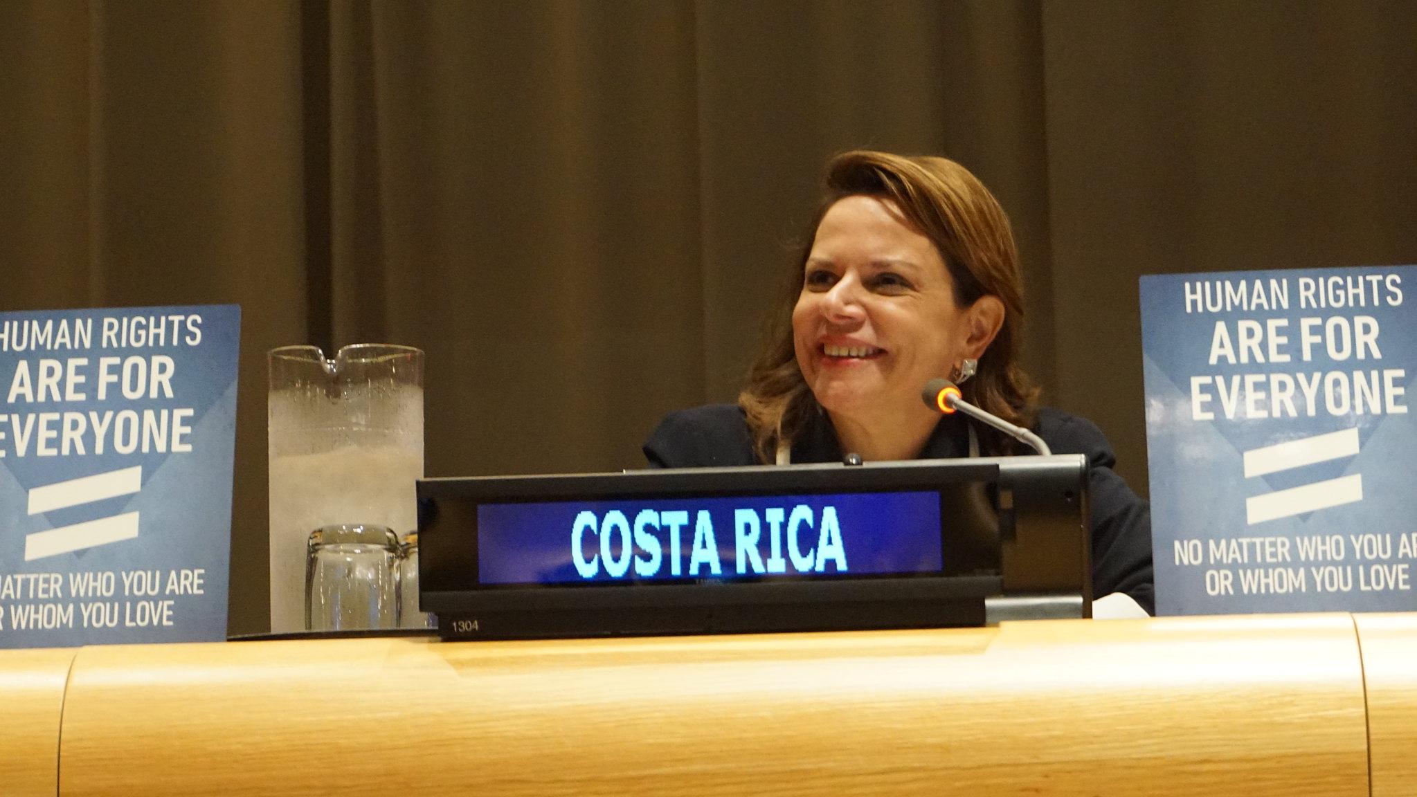Ana Helena Chacon Escheverria, Vice President of Costa Rica