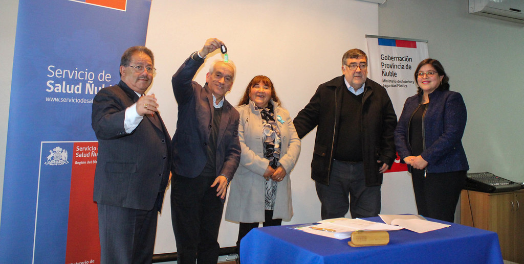 Nuevo Vehículo para Traslado de Pacientes llegó a Campanario