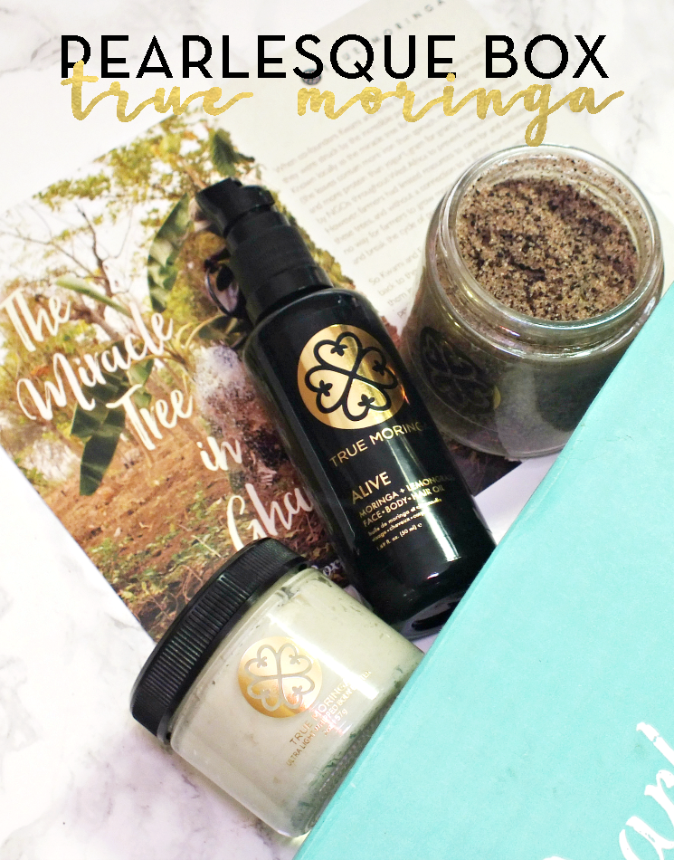 pearlesque box october 2017 true moringa (1)