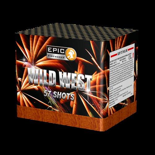 Wild West 57 Shots CE Firework Barrage #EpicFireworks