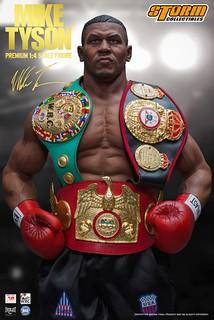 「無可爭議的世界重量級冠軍!!」Storm Collectibles【麥克·泰森】Mike Tyson 1/4 比例人偶作品