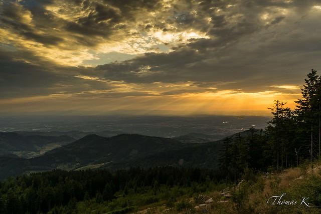 Sunset - Hornisgrinde