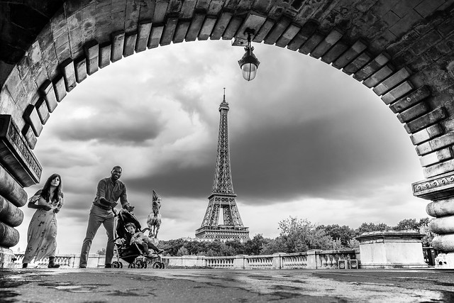 Eiffel from Bir Hakeim, Fujifilm X-Pro2, XF16mmF1.4 R WR