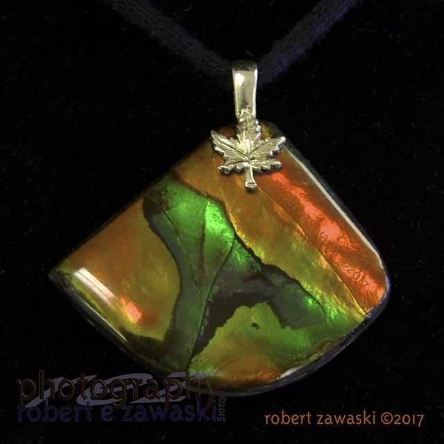whale's tail, ammolite gemstone