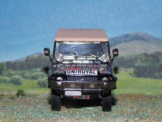 VW Iltis - Dakar 1980 - Norev