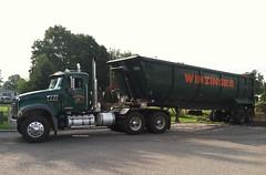 Winzinger 2008 Mack Granite GU713 tractor with dump trailer - truck No. 450_1