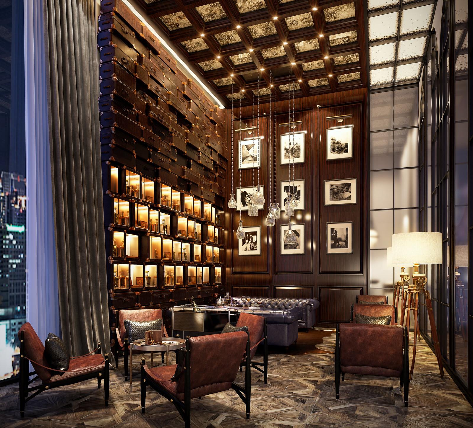 Cigar room hotel