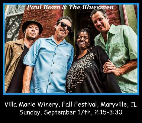 Paul Bonn & The Bluesmen 9-17-17