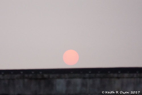 smoke sunrise lebanon oregon sun sky
