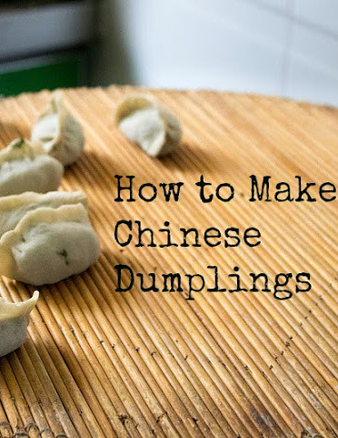 How to make Chinese Dumplings - with recipe!