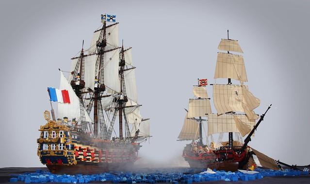 Lego Fan Sailing Ship Building Instructions