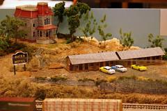 2017 TN State Fair: Model Railroad Bates Motel