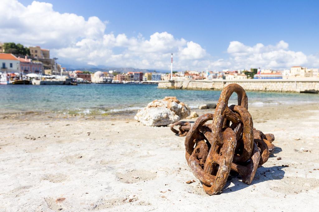 Old Venetian Harbour - Crete, Greece
