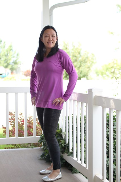 sew like my mom's allium dolman modified tunic by replicate then deviate
