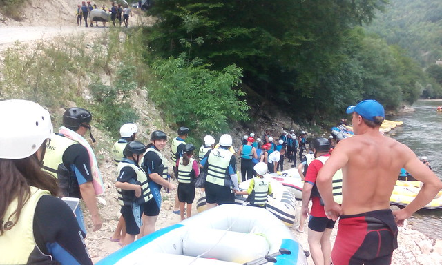 Go to the rafting on the Neretva river