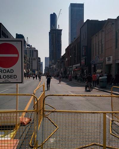 Open Streets (15) #toronto #yongeandwellesley #yongestreet #openstreetsto