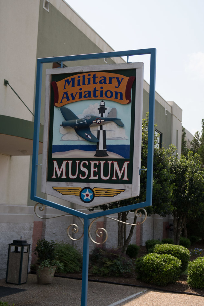 Sign for Military Aviation Museum